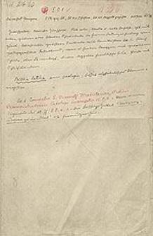 [Katalog rękopisów dawnej Biblioteki Uniwersyteckiej we Wrocławiu, t.23 (I O 1-75)]