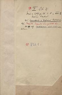 [Katalog rękopisów dawnej Biblioteki Uniwersyteckiej we Wrocławiu, t.25 (II O 2-54; III O 1-9; IV O 1-62)]