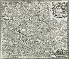 Regnum Bohemiae eique annexae Provinciae ut Ducatus Silesia Marchionatus Moravia et Lusatia accuratissime delineata