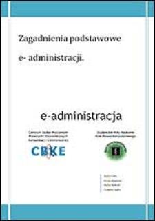 Zagadnienia podstawowe e-administracji