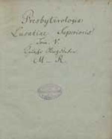 Bd.5. Deutsche Kirchdörfer M - R