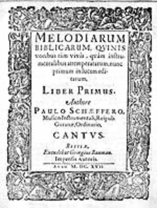 Cantiones sacrae, quas motectas vocant, de adventu et nativitate, Dn. I. Christi, VIII vocibus [...]