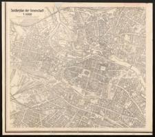 [Plan von Breslau]. Sonderplan der Innenstadt