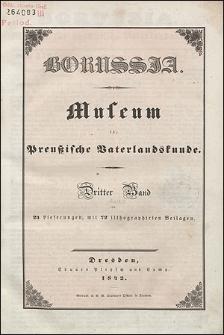 Borussia. Museum für Preußische Vaterlandskunde Bd. 3 (1842), Lief. 10
