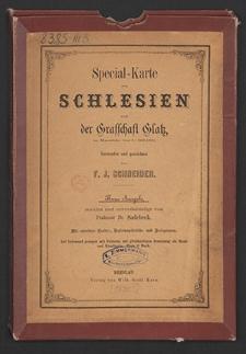 Special-Karte von Schlesien und der Grafschaft Glatz [...]