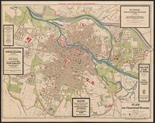 Plan der Hauptstadt Breslau