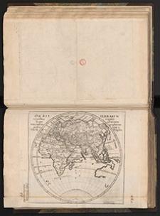 Orbis terrarvm veteribus cogniti typus ad mentem veterum geographorum praesentatur à Christ. Weigelio