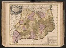 Principauté De Catalogne ou sont Compris Les Comtés De Roussillon Et De Cerdagne : divisées en leurs Vigueries