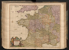 Accuratißima Galliæ Tabula Gallis Vulgo dicta le Royaume de France : divisa tam in Præfecturas generales, quam in Provincias seperatas cum regionibus aquisitis