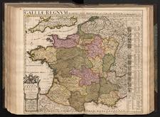 Carte Nouvelle du Royaume de France divisé en toutes ses Provinces et ses Acquisitions
