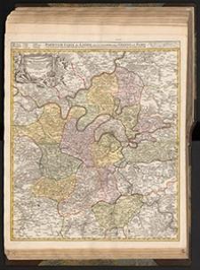 Agri Parisiensis Tabula particularis, qua maxima Pars Insulæ Franciæ, seu Regiæ celeberrimæque Parisiorum Urbis vicina Regio in suas Castellanias
