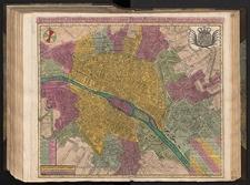 Le Plan De Paris, Ses Faubourgs et Ses Environs, divisé suivant ses Meridiens et Paralleles par Minutes et Secondes