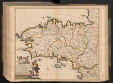Ducatus Britanniæ Tabula Cum Omnibus Suis Provinciis Nova Descriptio