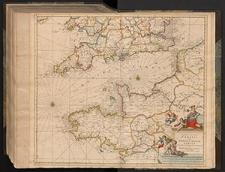 Novissima et Accuratissima Canalis inter Angliæ Et Galliæ Tabula : Cum Omnibus Suis Portibus, Arenis Et Profundis