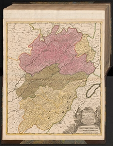Superior Burgundiæ Comitatus: Vulgo La Franche Comté Complectens Præfecturas Amontii, Dolæ, Avalli Quibus Adjectus Comitatus Montis Belligardi