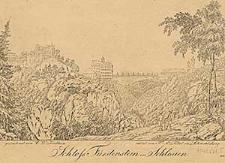 Schloß Fürstenstein in Schlesien