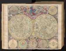 Planisphaerium coeleste secundum resitutionem Hevelianam et Hallejanam