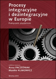 Procesy integracyjne i dezintegracyjne w Europie