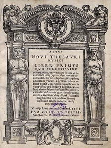 Novi Thesauri musici. Liber primus [..]