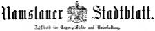 Namslauer Stadtblatt. Zeitschrift für Tagesgeschichte und Unterhaltung 1880-05-01 Jg. 9 Nr 034