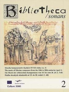 Muzyka kompozytorów śląskich XV-XX wieku (cz. 1)