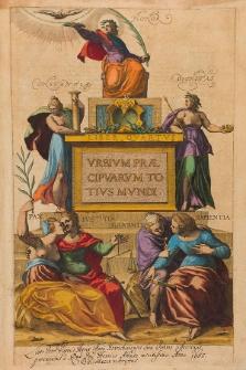 Civitates orbis terrarum. Urbium praecipuarum totius mundi. Liber quartus