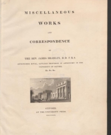 Miscellanous works and correspondence