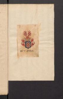 Genealogische Nachrichten ueber die Familie Oberland - Planitz. Bd. 11