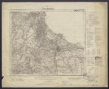 Karte des Deutschen Reiches 1:100 000 - 70. Danzig